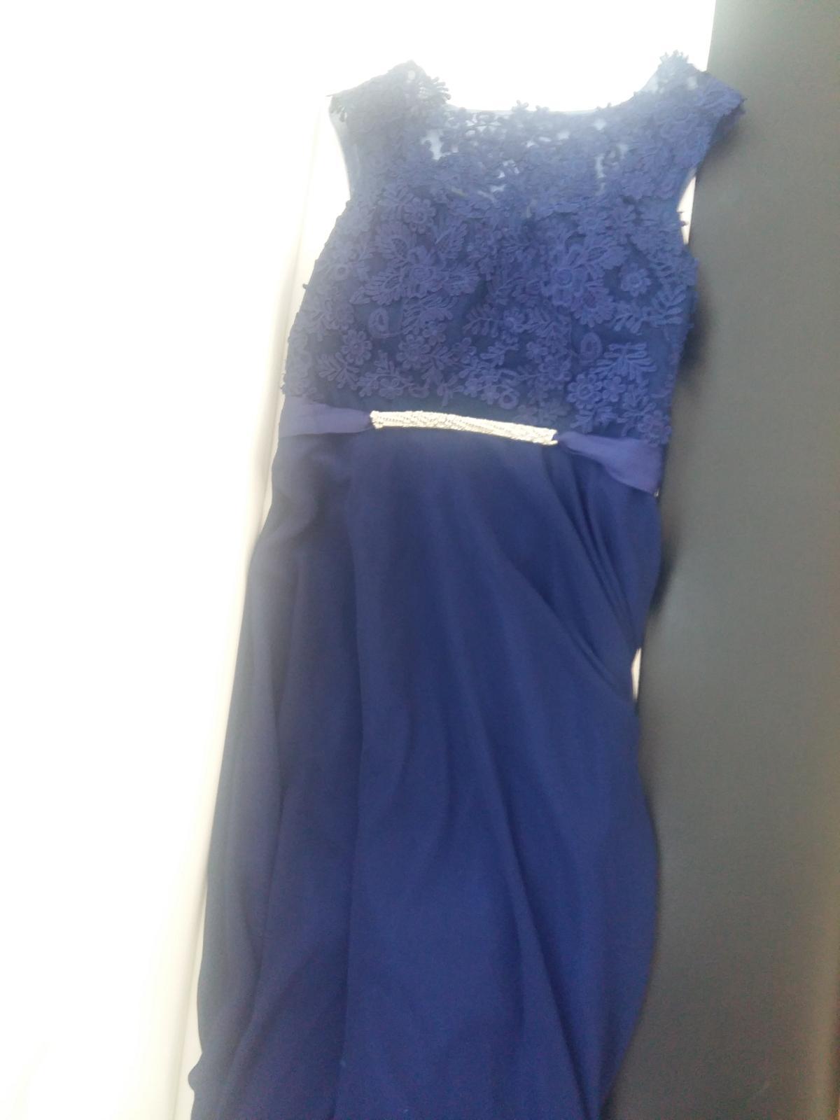 d96716b5c0eb Kráľovsky modré šaty čipkou svadobný bazár jpg 1200x1600 čipkou modre saty