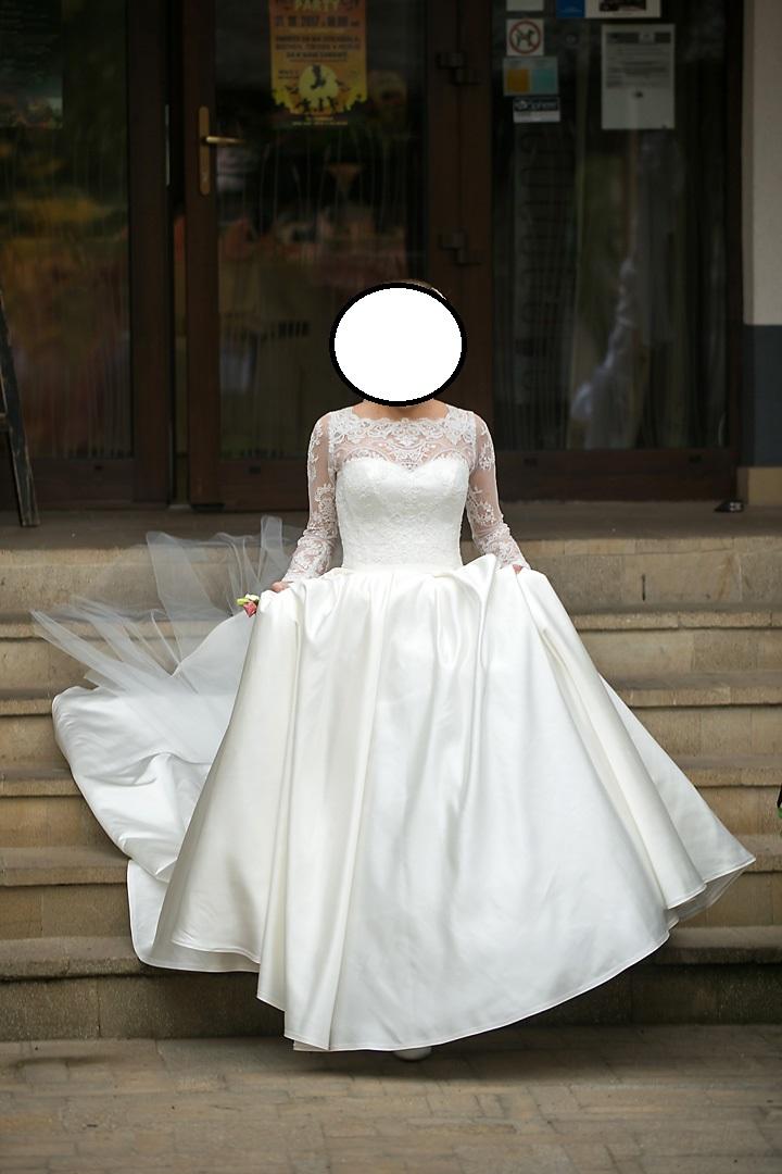 d860dadccf14 Svadobné šaty+závoj+spodnička