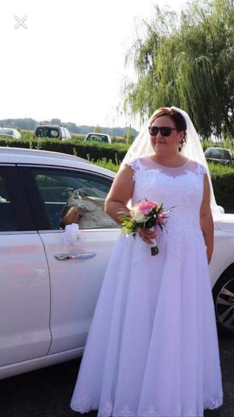 8a9f5c176652 svadobné šaty pre moletku 48-54