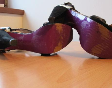 Sandalky na opatku vel. 40 - 6.5 , 40