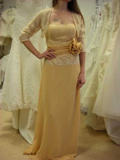 Šaty s bolerom-vhodné pre svadobnú mamu, 40