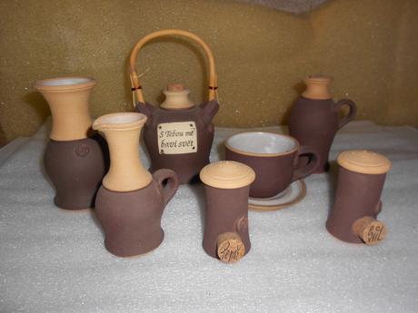 Sada keramiky,