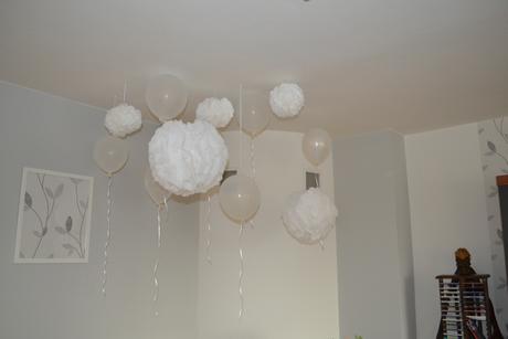 Balonky+pompom,