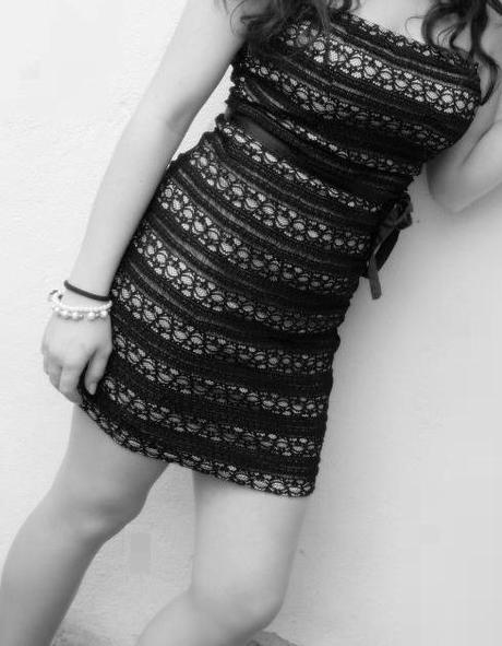 čipkovane šaty, 36