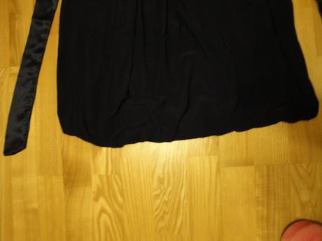 Balónikové tmavomodré šatky veľ. S - pošta v cene , 36