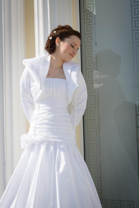 Svadobne šaty velkost  36 šnurovačky dohoda moz, 36
