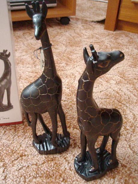 dekorácie - žirafy,