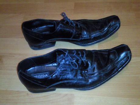 Kožené spoločenské topánky, 42