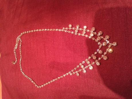 Štrasový náhrdelník ,