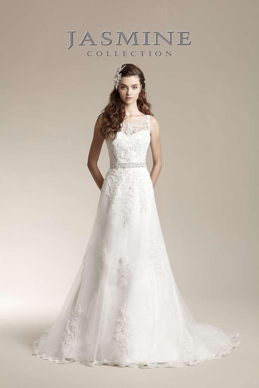 Romanticke Svatebni Saty Jasmine Bridal 32 11 400 Kc Svatebni