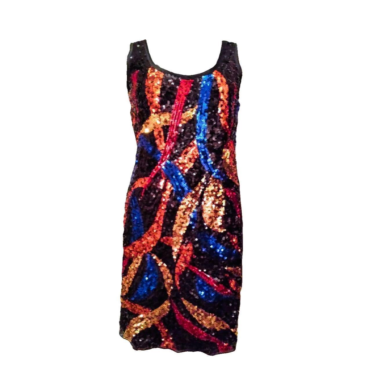 de2a6cc401d0 Vero moda flitrované šaty eyecatcher swing dress