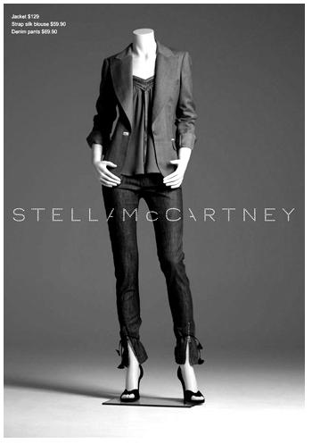 Stella McCartney vlnené smokingové sako, M