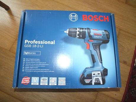 nepoužitý Bosch príklepový skrutkovač,