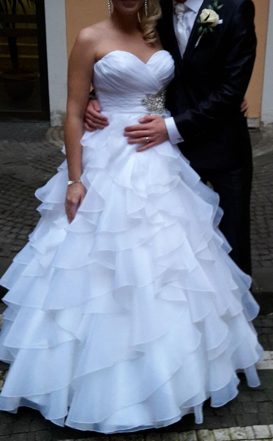 0ad0735250 Svadobné šaty zn. allure bridals