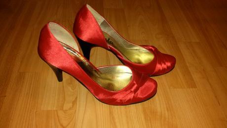 Cervene spolocenske topanky, 37