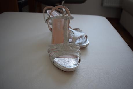 Svatební sandálky, 37