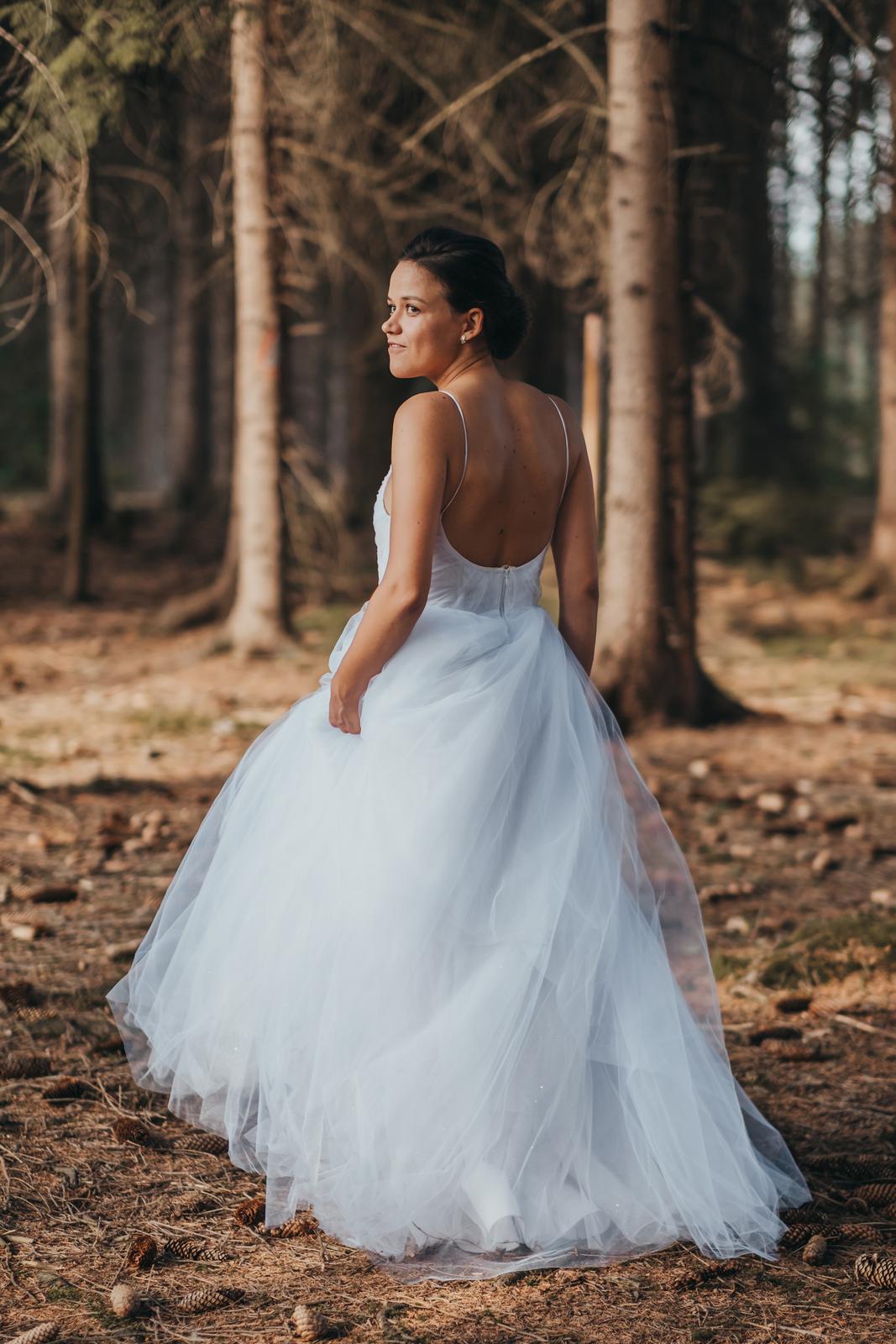 Tylové svadobné šaty 7fc90046bb0