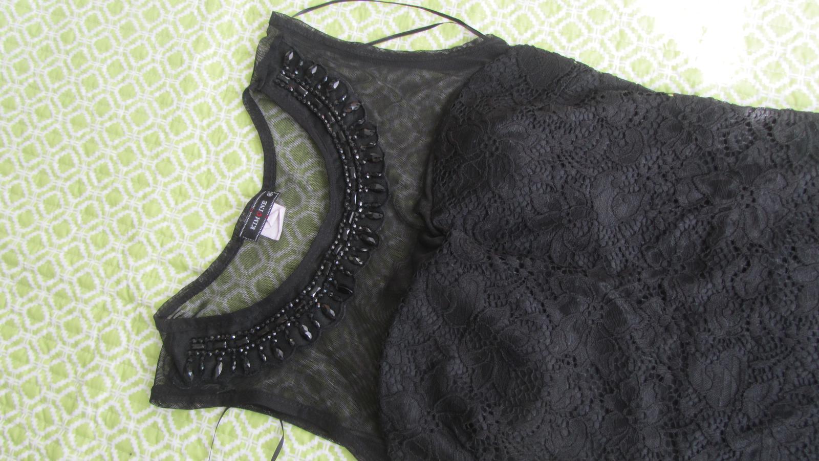 Čierne šaty s čipkou bc6bb7a5e23
