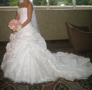 Svadobné šaty - šité podľa Sabelle - Sottero, 40, 42