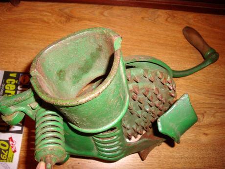 starý moržovák na kukuricu,
