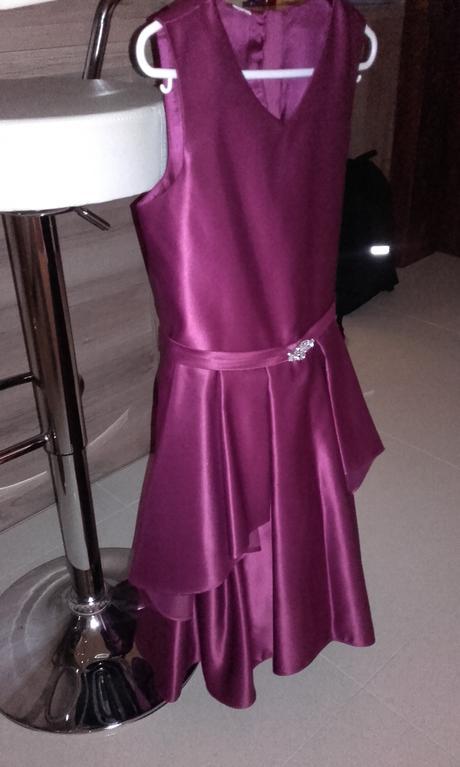 dievčenské spoločenské šaty č.152, 152
