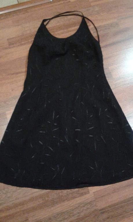 Šaty s poštou holý chrábat, 40