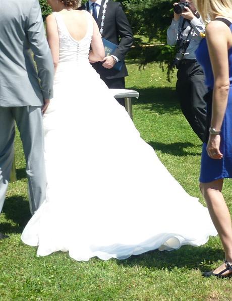 Svatební šaty Pronovias - vel. 36-38, 36