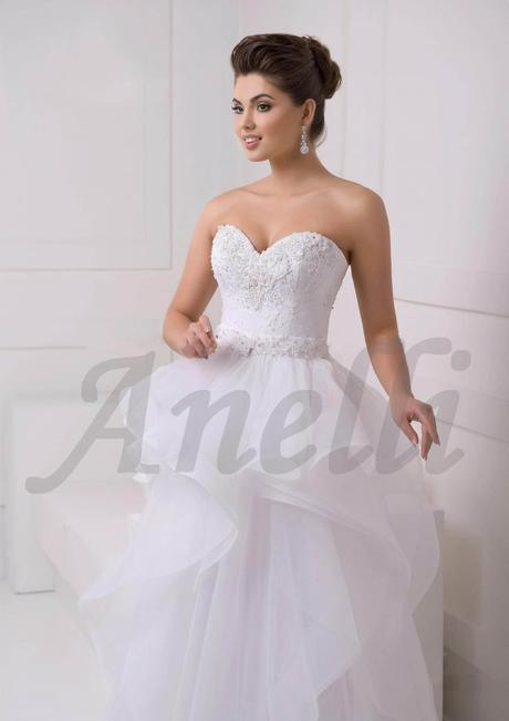 Svadobné šaty s odnimateľnou sukňou Crystal 1546, 36