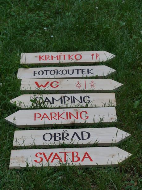 Dřevěné šipky,
