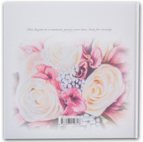 """Wedding book of wishes """"With love"""","""