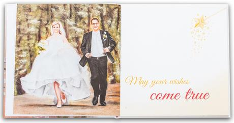 "Wedding book of wishes ""With love"","