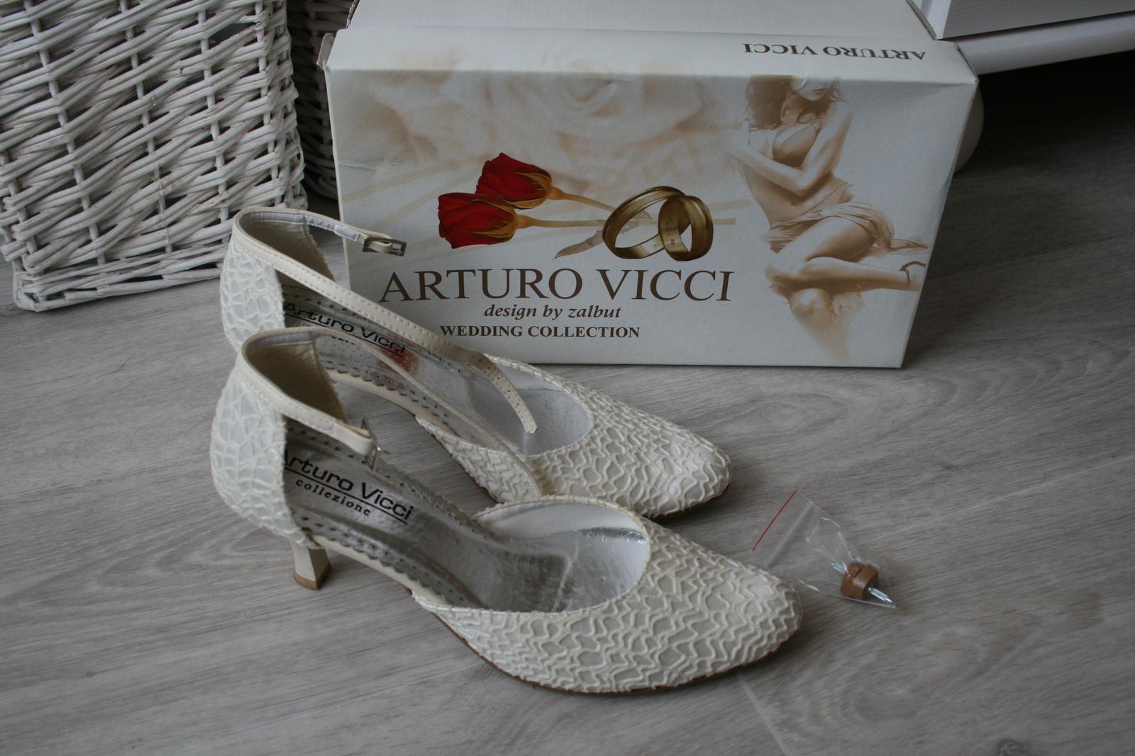 Pohodlné svatební boty arturo vicci 5e25694eac