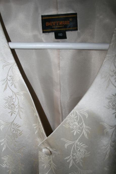 Pánský svatební set - prodloužená délka, 52