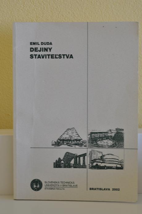 Emil Duda - Dejiny staviteľstva,