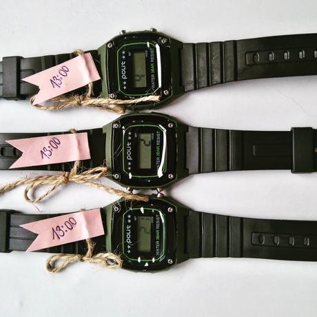 Darčeky pre svadobčanov - hodinky,