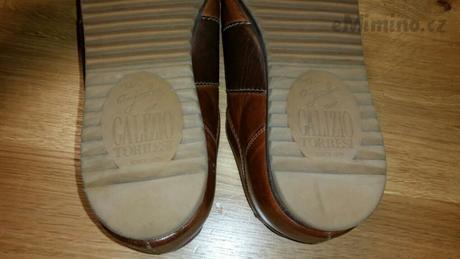 Kožené boty Galizio Torresi, 44