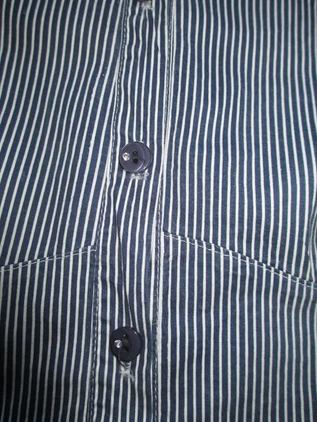 Pruhovaná pevná košile, 36