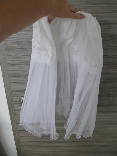 Šaty se spodničkou, L