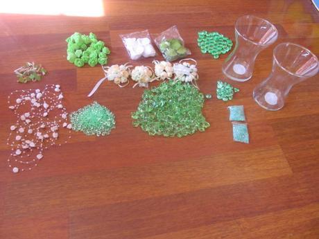 Zelená dekorace,