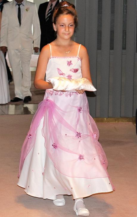 šaty pre malú družičku, 146