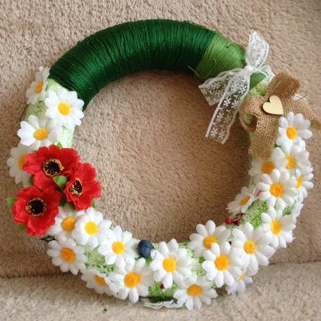 Hand made kvetinový venček,
