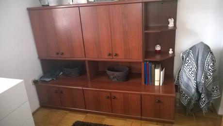 obývacia stena,