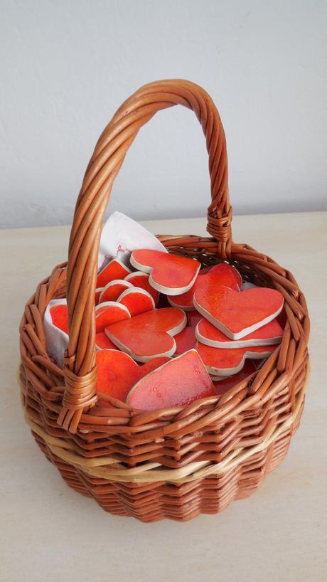 Keramicke handmade srdiecka,