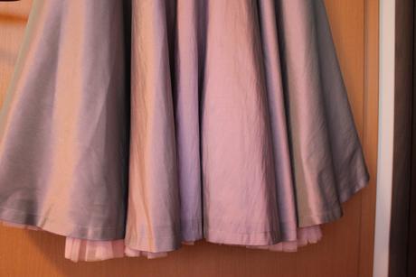 levandulové koktejlové šaty 50.léta m/l, 40