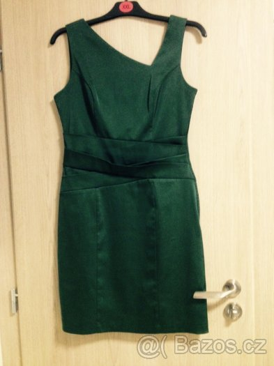 Tmavozelené šaty Orsay vel.38, 38