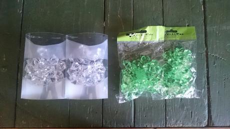 kryštály zelene,
