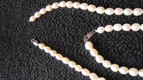 perlový set,