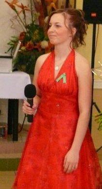 červené šaty - veľmi pekné, 36