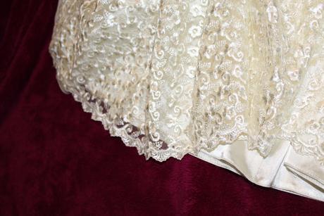 Krajkové čipkované šaty, 36