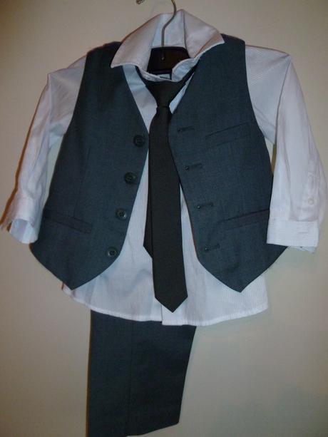 Chlapčenský oblek 1-2 roky , 92